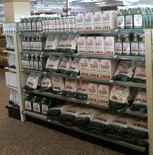 Plantskydd Products Display
