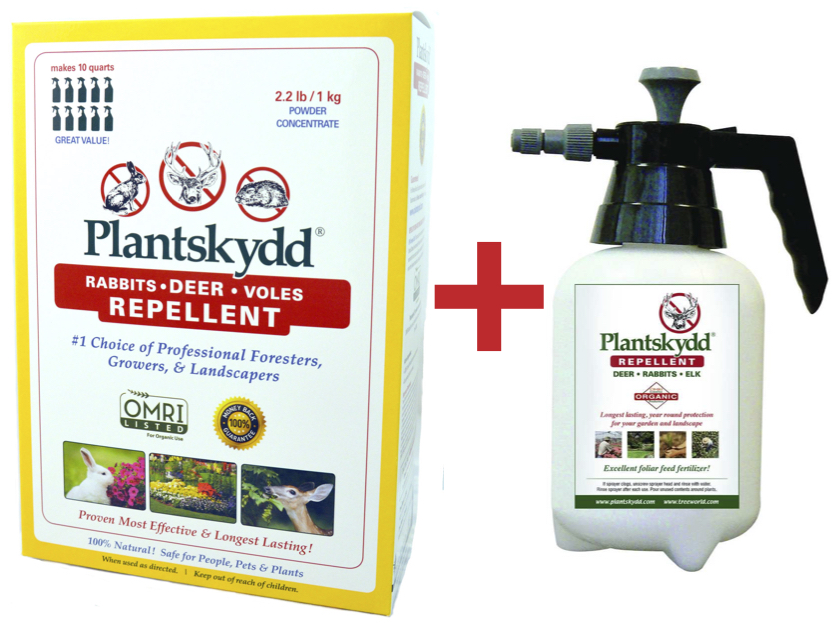 Plantskydd Powder 2.2 lb plus sprayer