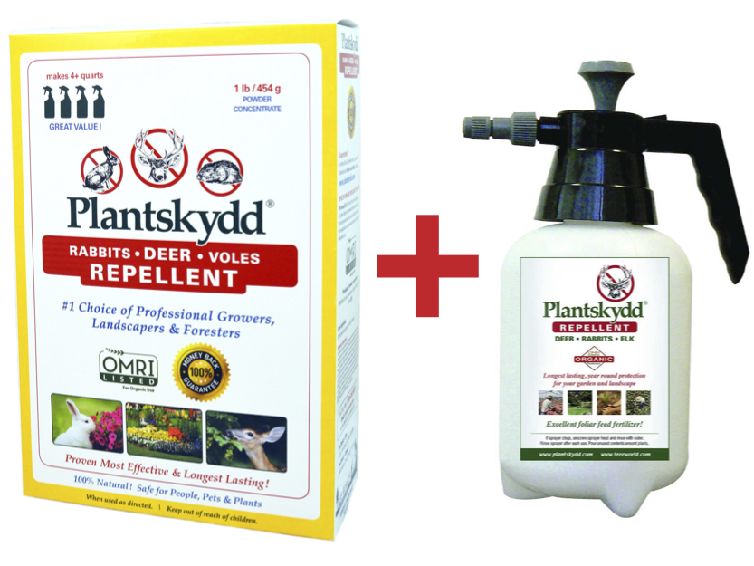 Plantskydd 1 lb Powder plus sprayer
