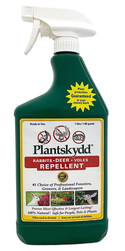 Plantskydd Deer Rabbits Voles Repellent 1L RTU liquid
