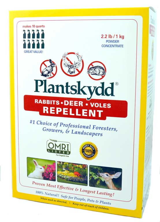 Plantskydd Deer Rabbits Voles Repellent 2.2 lb powder