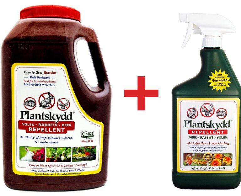 Plantskydd 8 lb granular plus 1 L liquid
