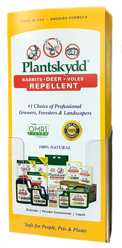 Plantskydd literacy makes sharing info about this product easy