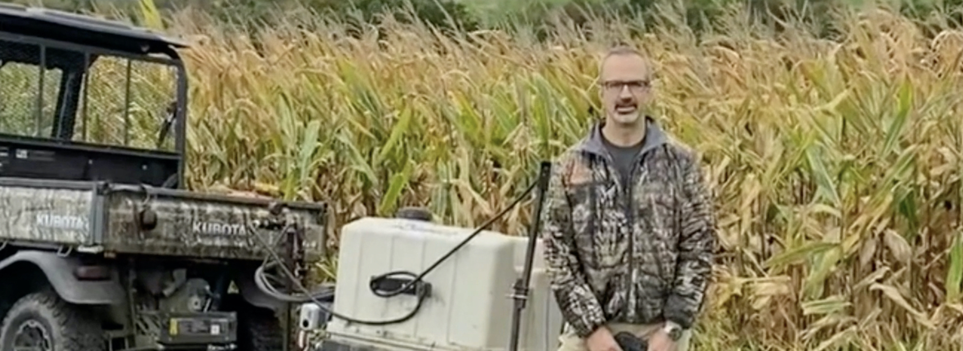 Iowa corn farmer Jim Bower describes how Plantskydd saved his farm from deer